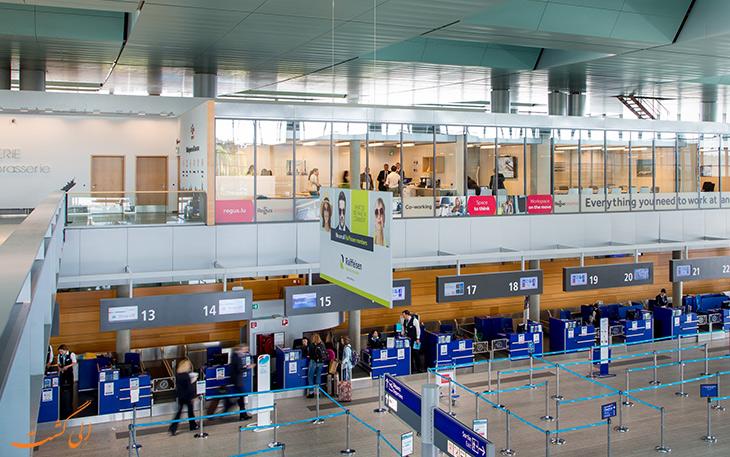 ترمینال های فرودگاه لوکزامبورگ