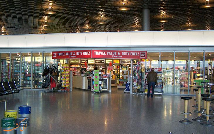 فروشگاه دیوتی فری فرودگاه هانوفر