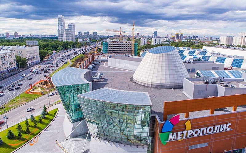مرکز خرید متروپولیس در مسکو