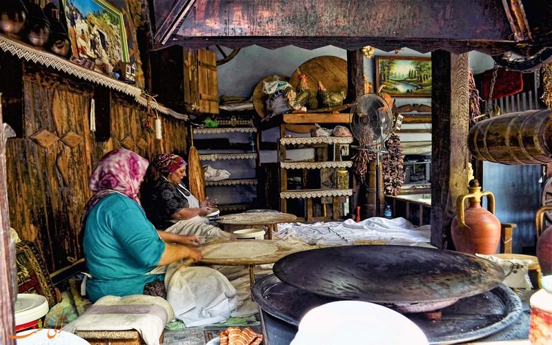 پخت نان سنتی ترکیه