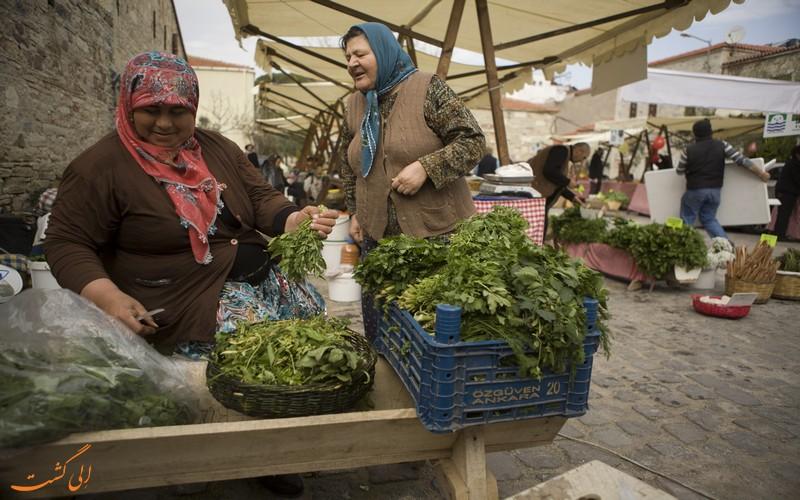 بازار سبزیجات ترکیه