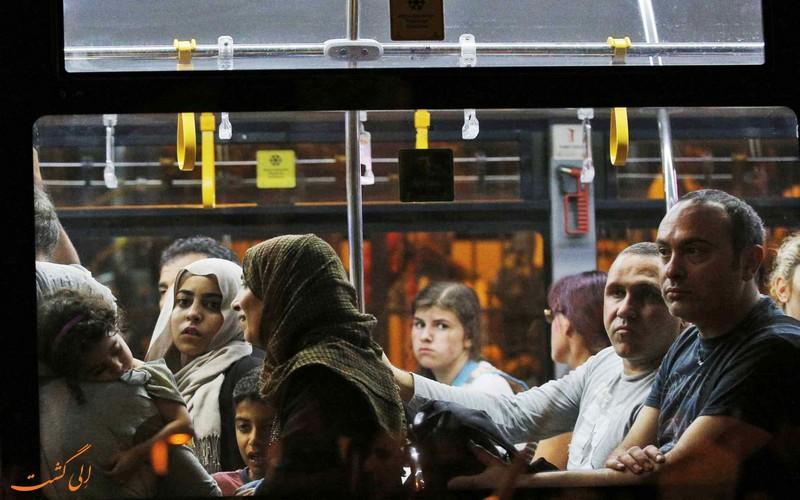 اتوبوس ترکیه