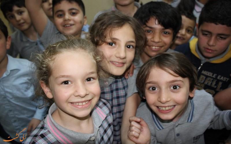 بچه های ترک