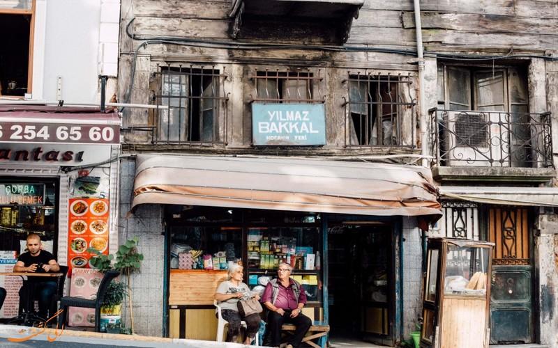 کوچه های قدیمی ترکیه