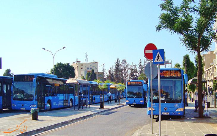اتوبوس های عمومی در قبرس