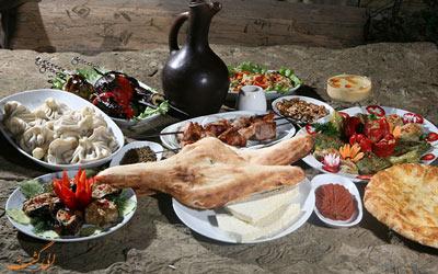 غذاهای معروف تفلیس