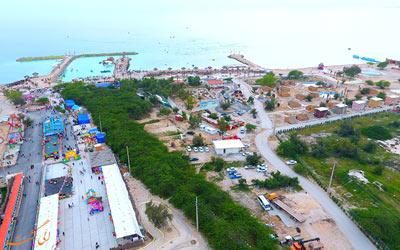 بزرگترین دهکده گردشگری ساحلی جنوب کشور