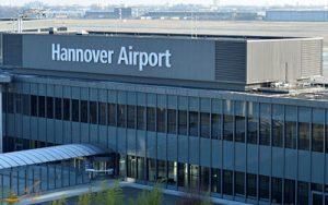 فرودگاه هانوفر آلمان