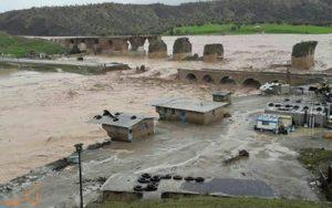 خسارت سیل به بناهای تاریخی کشور