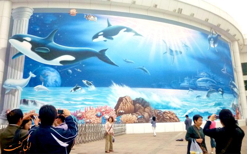 آکوریوم-در باغ وحش پکن