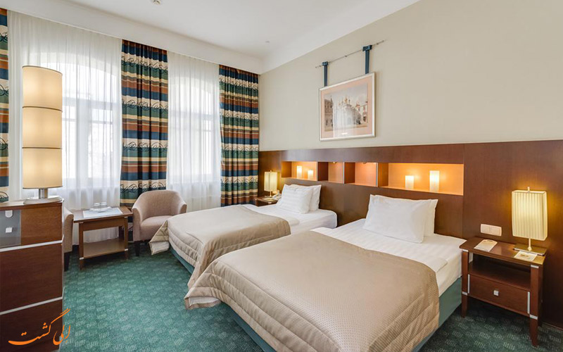 اتاق های هتل پتر یکم مسکو