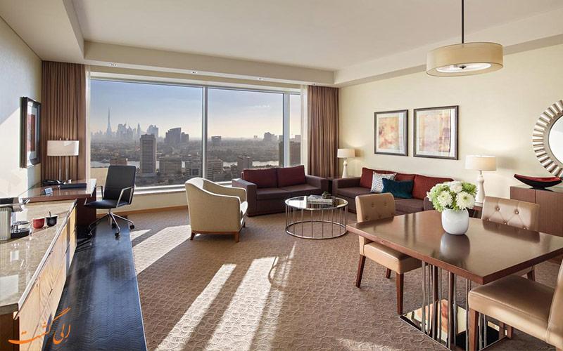 امکانات اتاق های هتل سوئیسوتل الغریر دبی