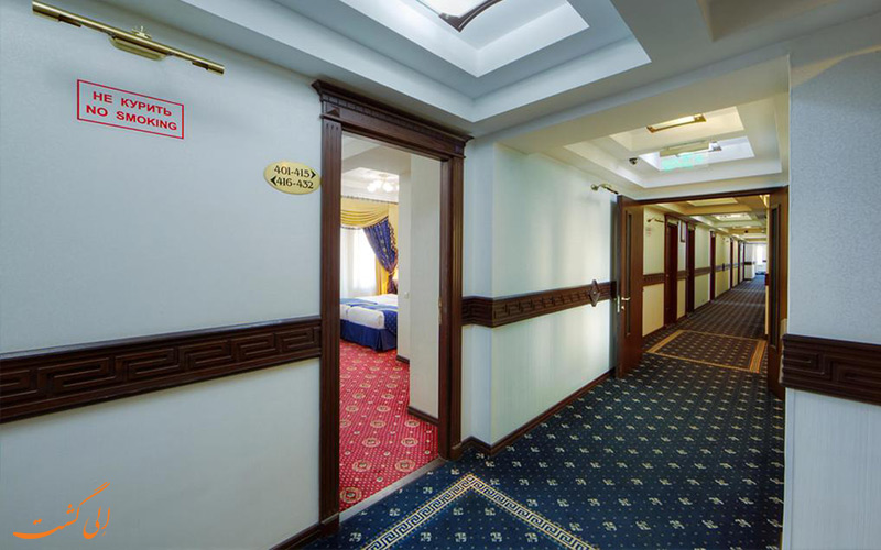 امکانات راهروهای هتل کاسادو پلازا مسکو