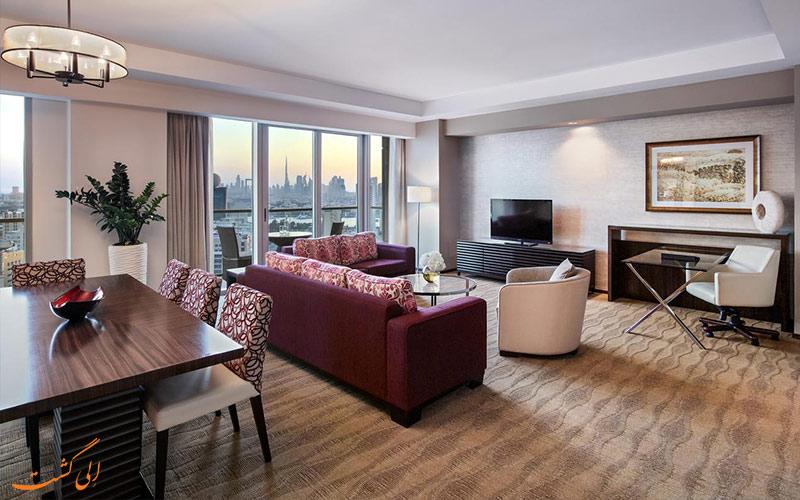 انواع اتاق های هتل سوئیسوتل الغریر دبی