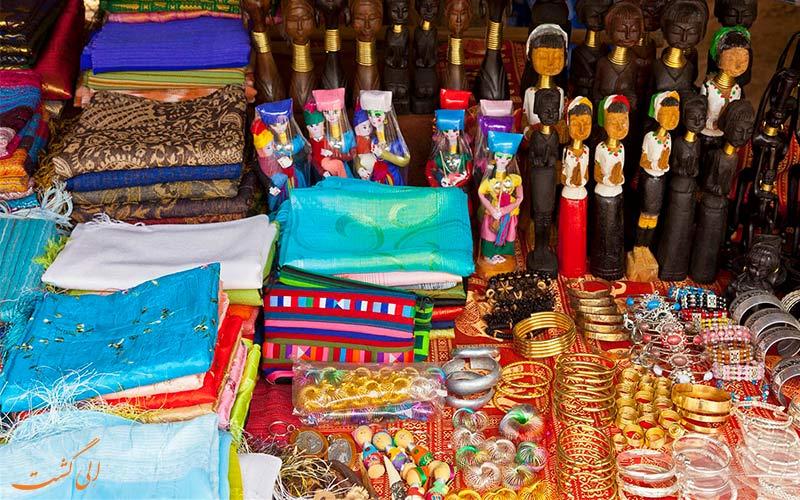 بازارهای محلی در سفر به مثلث طلایی