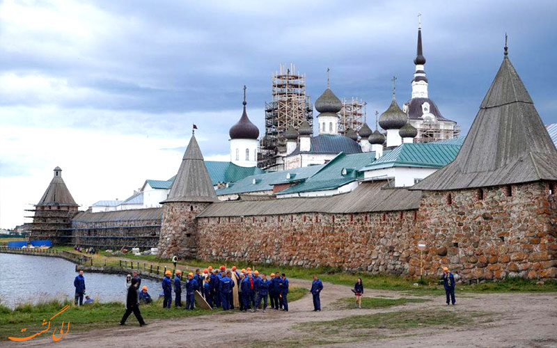 بازدید از جاذبه های جزایر سولوتسکی روسیه