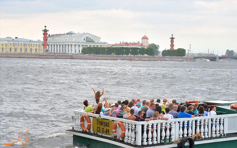 جاذبه های تفریحی جزیره واسیلی سنت پترزبروگ - مسکو و سن پترزبورگ