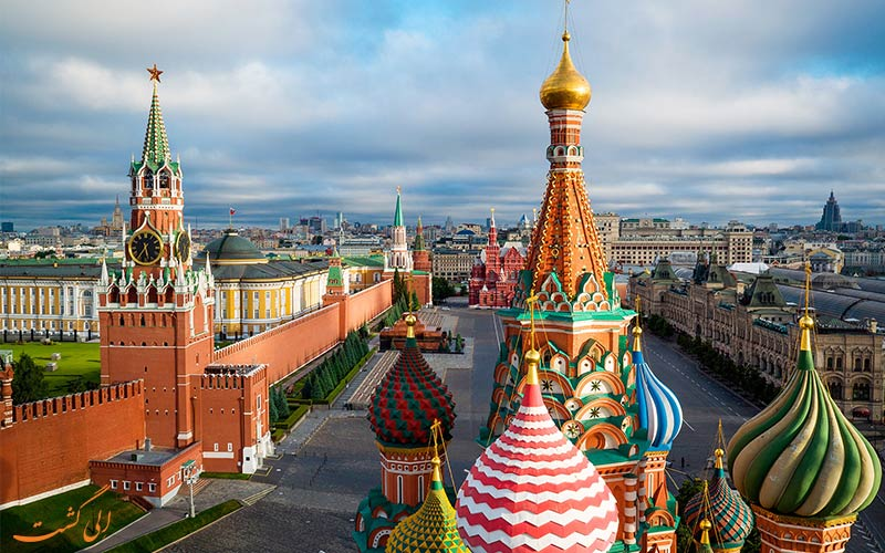 جاذبه های مسکو-دلایل سفر به روسیه