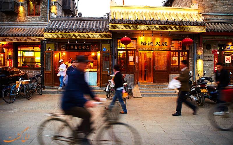 خیابان های خرید پکن