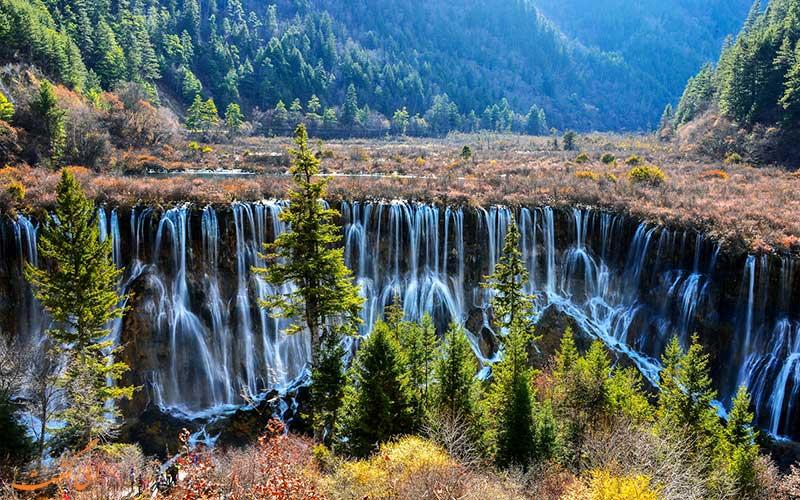 آبشارهای دره هوانگ لونگ چین