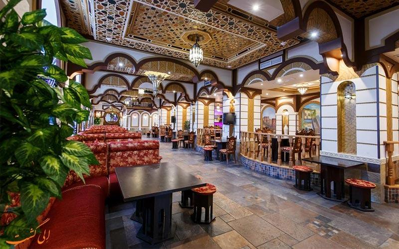 رستوران هتل کاسادو پلازا مسکو