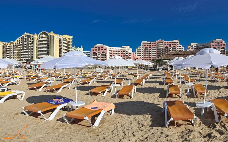 سواحل آفتابگیر سانی بیچ بلغارستان-برنامه سفر به بلغارستان