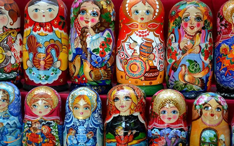 سوغاتی های روسیه-دلایل سفر به روسیه