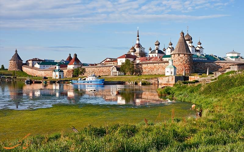 صومعه جزایر سولوتسکی روسیه