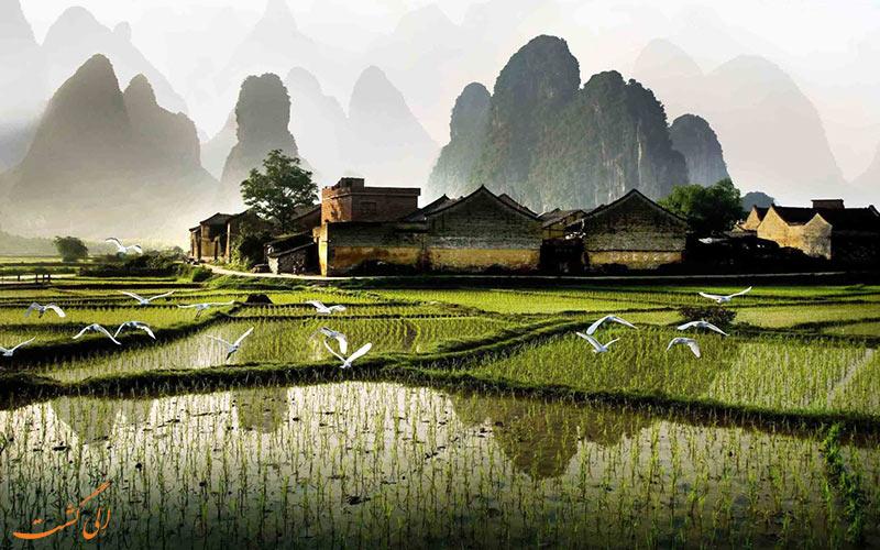 طبیعت زیبای شهر یانگشو چین