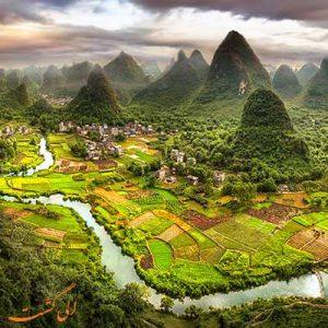 شهر یانگشو چین