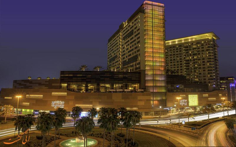 فاصله هتل سوئیسوتل الغریر دبی تا جاذبه های شهر
