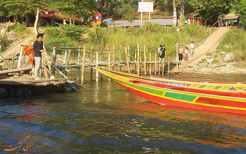 قایق ها در سفر به مثلث طلایی