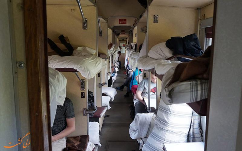 قطار به مقصد جزایر سولوتسکی روسیه