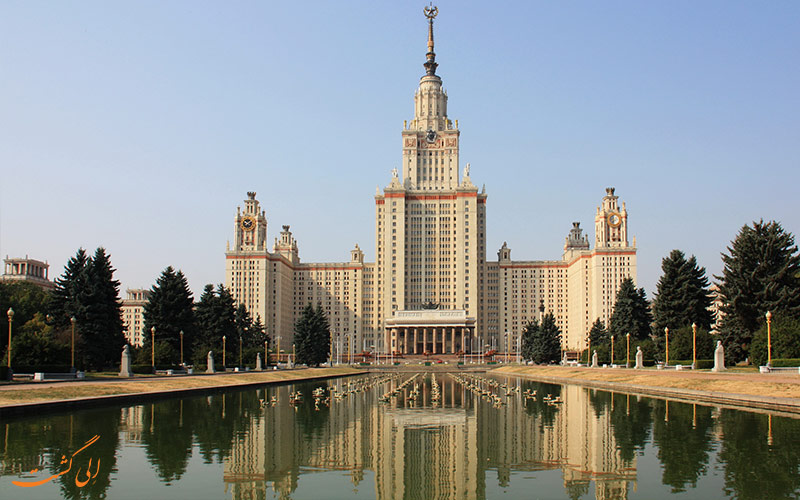 مجموعه دانشگاهی در تپه های گنجشک مسکو