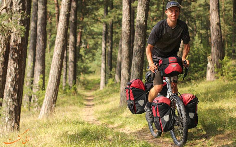 مقصدهای گردشگری با دوچرخه