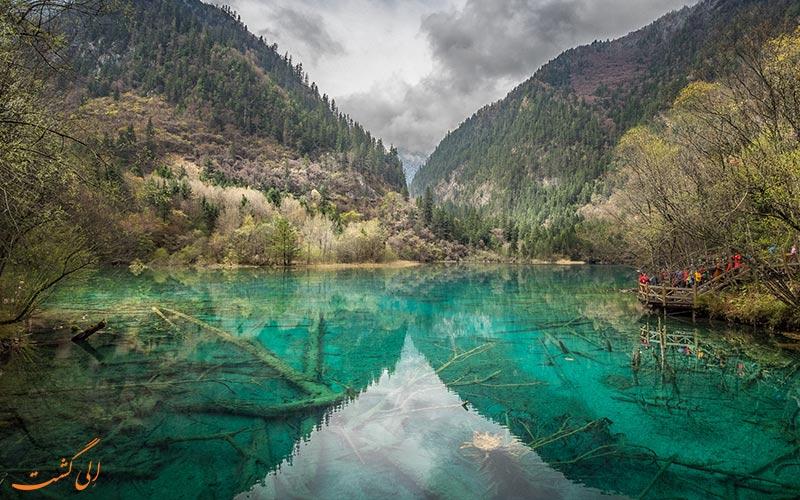 مناطق توریستی چین در پارک ملی دره جیوژای