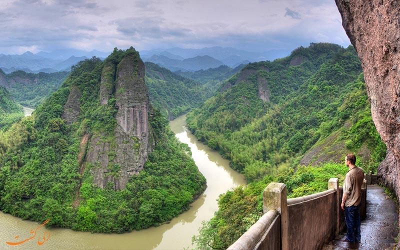 نمای-روبروی-سکوی-پارک ملی تیانمن چین