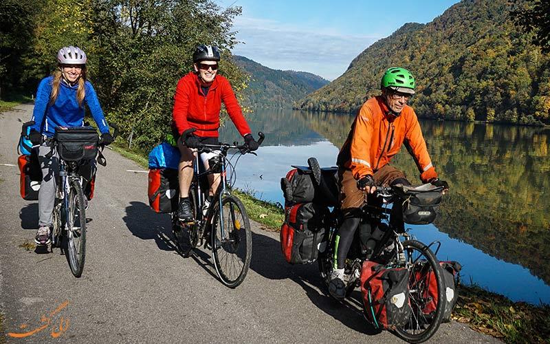 پرطرفدار شدن سایکل توریسم یا گردشگری با دوچرخه