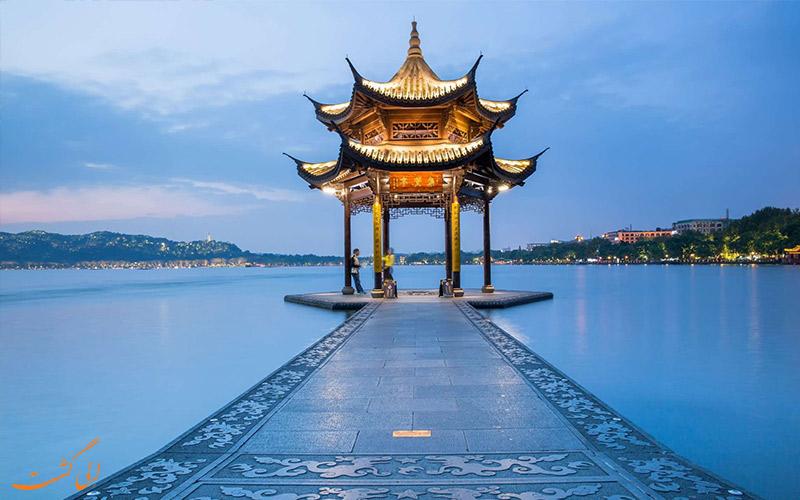 پل های سنگی دریاچه غربی چین