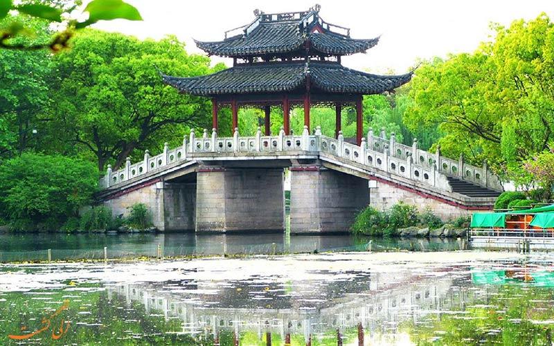 پل ها و مناظر زیبای دریاچه غربی چین