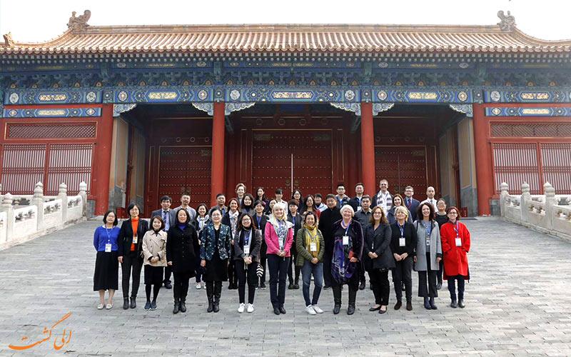 تور بازدید از کاخ موزه پکن
