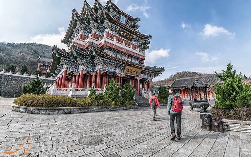 بناهای پارک ملی تیانمن چین