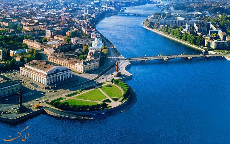 کانال های آبی جزیره واسیلی سنت پترزبورگ-برنامه سفر به سنتپترزبورگ