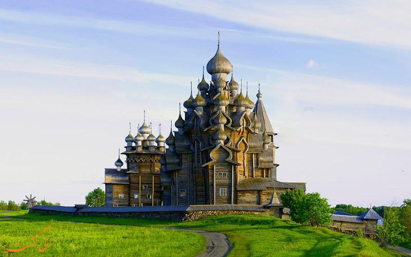 کلیساهای چوبی جزیره کیژی از میراث جهانی