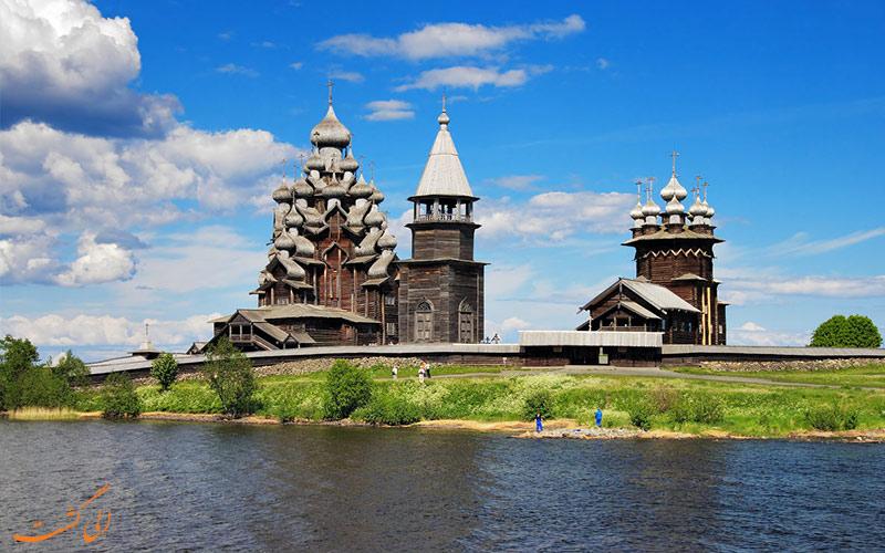 کلیساهای چوبی جزیره کیژی در اونگا