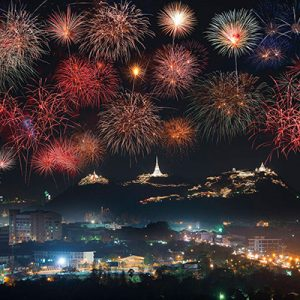 فستیوال آتش بازی تایلند