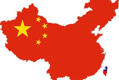نقشه کشور چین