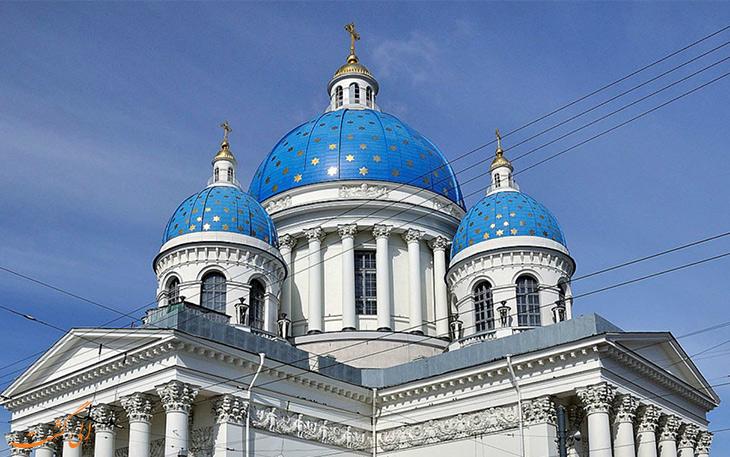 بهترین کلیساهای سنت پترزبورگ ، نمادی از معماری روسیه