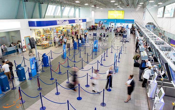 فرودگاه بین المللی بیرمنگام انگلستان
