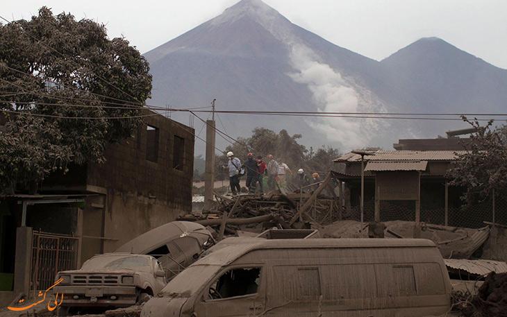 حقایقی از آتشفشان ها در خصوص فاجعه های این رویداد